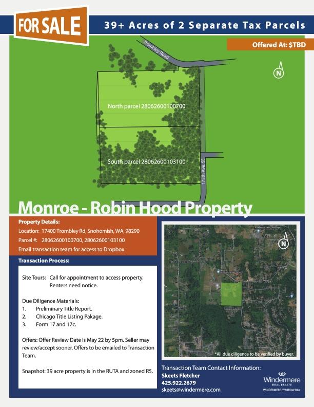 7.16.18 Trombley Mktg Flyer showing 5 ac parcels_001